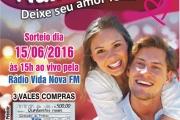 Sorteio Campanha Dia dos Namorados