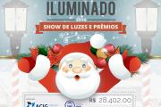 Natal iluminado: Show de Luzes e Prêmios.