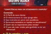Palestra Stand-up Empresarial com Gustavo Becker