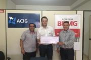 ACIG recebe 3º lugar em meta estadual do BDMG
