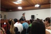 Público adora a palestra e pede que Ricardo volte