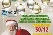 """Show de mágica marca o lançamento da Campanha """"Natal Premiado ACIG 2015"""""""